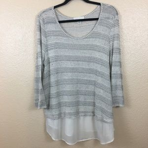 Forever 21 Plus tunic sweater sz 3X